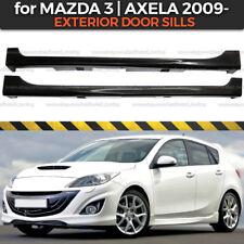 Side skirts Mazda 3 BL Axela 2009-2012 Body Kit Exterior Door Sills