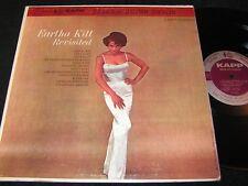 EARTHA KITT Revisited / 60s Canadian LP KAPP RECORDS KS-3192