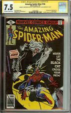 Amazing Spider-Man #194 1st Black Cat CGC 7.5 Stan Lee, Romita, and Shooter