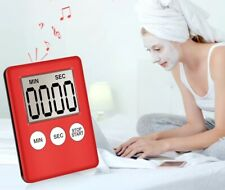 1Pcs  LCD Digital Screen Kitchen Timer Square Cooking Count Up Countdown