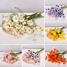 """SILK DAISY FLOWER BUNCH 3 COLORS TO CHOOSE FROM 15 1//2/"""" 21 FLOWERS"""