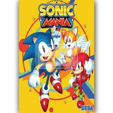 C351 Sonic the Hedgehog Movie Silk Poster 12x18 24x36inch Jeff Fowlerinch