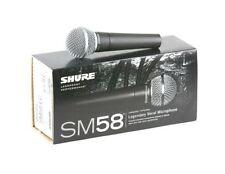 Microphones Shure pour équipement audio professionnel