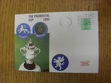 COPPA del mondo di cricket 11/06/1983: Inghilterra V Sri Lanka [a Taunton/CONTEA DI TERRA] COM