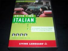 Learn Italian While You Drive with Drive Time Course 4 CDs & Booklet Italy