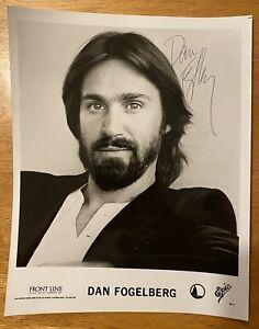 Dan Fogelberg Signed Autographed 8x10 Photo Full JSA Letter Musician Singer