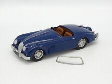 Kit Monté Métal 1/43 - Jaguar XK120 XK140 Roadster Bleue