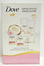 Dove 4-Pc Caring Coconut Beauty Bundle (Beauty Bar x 2, Deo x 2)