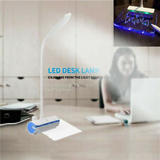 Foldable LED Desk Table Lamp Touch Intensity Reading Lights USB Rechargeable