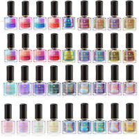 BORN PRETTY Nagellack Nail Polish Holographisch Chamäleon Thermal Color Changing