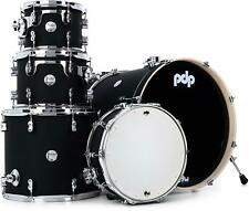 PDP Concept Maple 5-piece Shell Pack - Satin Black