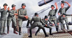 Trumpeter 00406 1/35 280mm K5 (E) Leopold German Railroad Gun Crew
