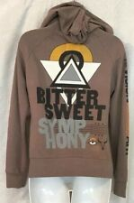 291 From Venice Zip Up Hoodie Brown Bitter Sweet Symphony Size 1
