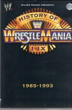 DVD=HISTORY OF WRESTLEMANIA I-IX=1985-1993