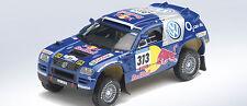 MINICHAMPS 1/43 VOLKSWAGEN VW TOUAREG 4X4  2005 BARCELONE DAKAR KANKKUNEN N°313
