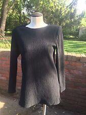 Vintage Marled Ribbed Long Sleeve Tunic Top
