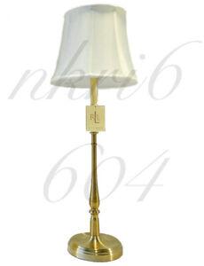 BRAND NEW Ralph Lauren Darien Candlestick Table Lamp Brass Gold