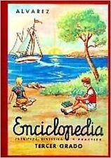 Enciclopedia Alvarez, 3.er grado. NUEVO. Nacional URGENTE/Internac. económico. D