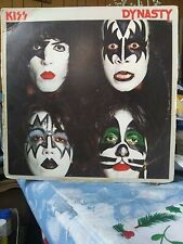 "Kiss ""Dynasty Album Cover"" 1979 Original Cover No Record Collectible Rare"