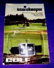 Pro Golf America Scorekeeper Keeps Count Strokes Running Total Vintage 21428