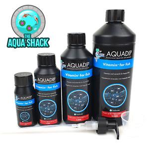 Aquadip Vitamin + For Fish - Aquarium Treatment Minerals Health Supplement Tank