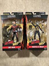 Marvel Legends: Ant-Man & Wasp (Cull Obsidian BAF) 6? Action Figures 2017