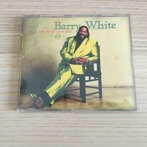 Barry White _ Put Me In Your Mix _ CD Single 3 Tracce _ 1991 A&M Germany