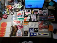New listing LOT OF 54 FORMULA 1 PIECES 43 STICKERS , 2 PATCHES , 5 TICKETS , VIP CARD +++
