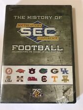 The History Of Southeastern Conference Football Dvd