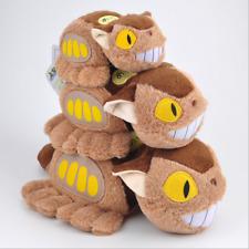 "New Studio Ghibli My Neighbor Totoro Cat Bus Soft Plush Toys Dolls 6""/9""/11"""
