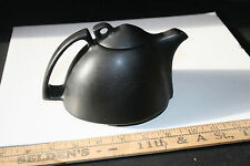Peter Saenger Signed Abstract teapot black