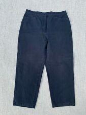 Damen 7/8 Hose Jeans von Bonita Gr 44 dunkel blau