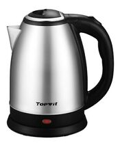 Stainless Steel Electric Water Kettle. Cordless. Auto Off. Boil Dry Protection