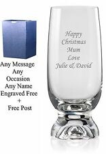 Personalised Engraved Highball Glass birthday gifts, 40th, 50th 60th birthday