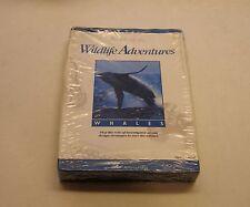 RARE Whales by Audubon for Apple II, II Plus, Apple IIe, IIc, Apple IIGS - NEW