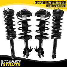 Complete Struts / Shocks & Coil Springs w/ Mounts Set for 1995-99 Nissan Maxima