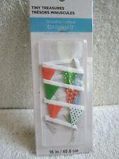 Celebrate It Tiny Treasures Shoreline Pennants Banner Miniature - Nip