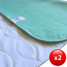 waschbare Inkontinenzauflage Unterlage Krankenunterlage  100/%wasserdicht 60x75cm