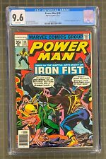 POWER MAN #48 Marvel 1977 Luke Cage CGC 9.6 Power Man & Iron Fist 1st Meeting