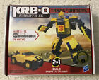 KRE-O Transformers Bumblebee (BASIC) Construction Set - NEW IN BOX, 75 Pieces