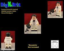 JIGSAW Punisher Villain Custom Printed & Inspired Lego Marvel Minifigure