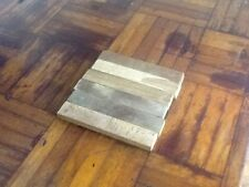 "Vintage Teak Wood Parquet Bruce Flooring 4.5"" x 4.5"" x 5/16"" square Grand Banks"