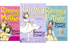 Ramona and Her Father, Her Mother, Ramona Forever by Beverly Cleary (3 Paperback