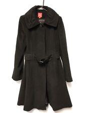 Oscar de la renta Woman's Black Wool Coat Size 10