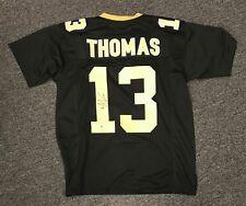 Michael Thomas #13 Signed Saints Jersey AUTO Sz XL Beckett BAS WITNESSED COA