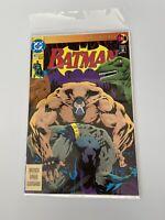 Batman #497  RARE/HTF 2nd Print, Knightfall #11, DC 1993 Comic Modern Paperback
