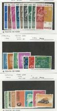 Indonesia, Postage Stamp, #555//569, 574-580 Mint Hinged, 581-8 NH, 1962