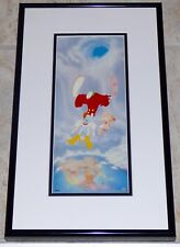 WALT DISNEY WHO FRAMED ROGER RABBIT TUMMY TROUBLE FRAMED CEL PROMO CARD
