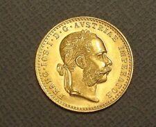 1915 Austria 1 Ducat Gold Coin~Restrike~.1106oz 98.6% Gold Coin~Foreign Gold