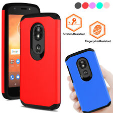 For Motorala Moto E5 Play/ Cruise Case Shockproof Hybrid Silicone Rugged Cover